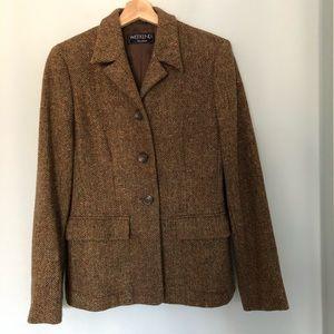 Maxmara Weekend Wool/tweed blazer
